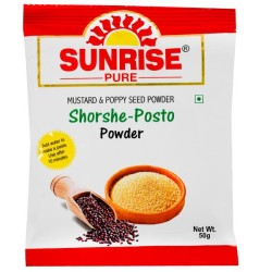 Sunrise Shorshe Posto Powder - Pack of 3