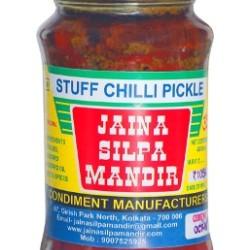 Jaina Silpa Mandir Stuffed Chilly Pickle